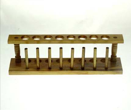 木制試管架