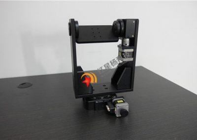 二維電動旋轉台 二維旋轉相機支架 精密型電控整體旋轉台