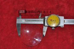 (光學)凸透镜玻璃镜片 直径6.0cm 大号放大镜 凸透镜片 焦距140左右