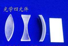 (光學)凸透镜 凹透镜 曲面镜 平面镜 光学四元件(一套)光学 教学仪器