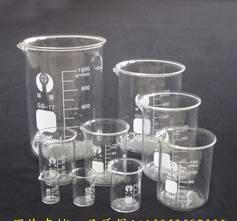 玻璃烧杯10-1000ML带刻度 耐高温玻璃料 化学实验器材 教学仪器