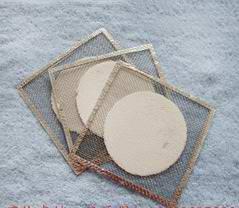 石棉网10-15cm小中大号隔热网 加热垫片 化学实验器材教学仪器