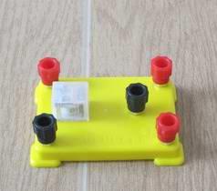 (電學)J24014 电磁继电器 物理电学实验器材 电磁学 学具 教学器材