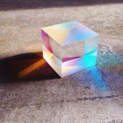 (光學)合色棱镜 研究光的传播科普实验投影仪原理分光棱镜 拍照棱镜