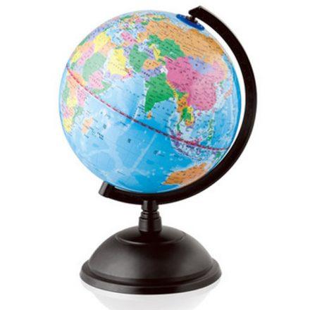 34002 平面地形地球儀 32cm 1比4000萬 地理實驗 教學儀器