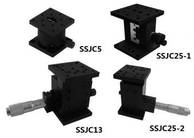 SSJC高精密高靈敏微調升降平台 小行程小型升降台 Z軸滑台